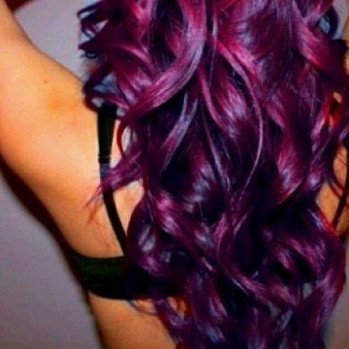 cool, cute, girl, hair, purple, violet fashion, woman