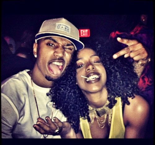 Kelly rowland and trey songz gif