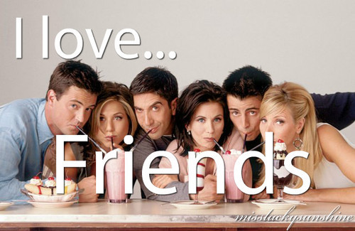actors, blonde, brunette, celebrities, celebrity, courteney cox, david schwimmer, earrings, famous, food, friends, i love, ice cream, jennifer aniston, joey tribbiani, lisa kudrow, matt leblanc, matthew perry, miss lucky sunshine, missluckysunshine