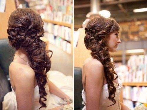 Magnificent Curly Cute Date Fancy Image 528953 On Favim Com Hairstyles For Women Draintrainus