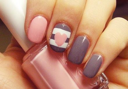 cute, essie, girly, grey