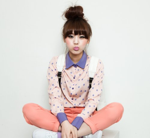 Cute Fashion Girl Korean Fashion Image 538250 On