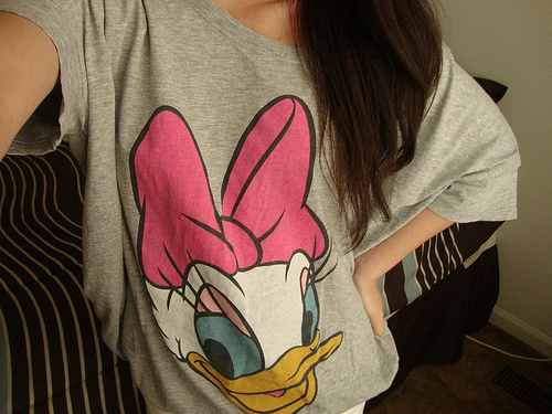 daisy, disney, duck, fashion