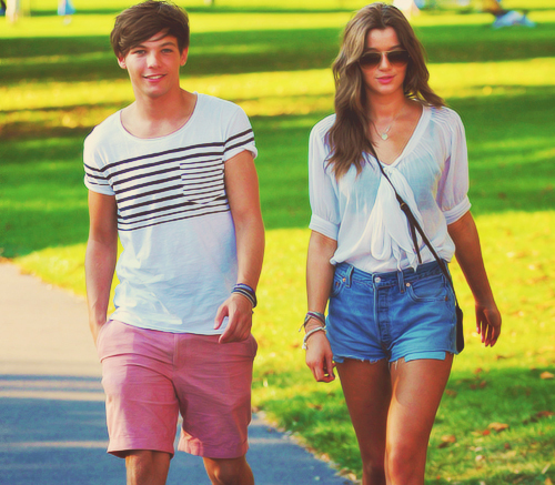 elounor, louis tomlinson, one direction
