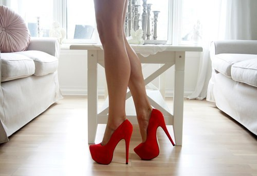 fashion, feet, red, shoes