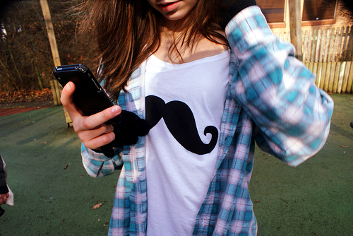 fashion, girl, mustache, photography