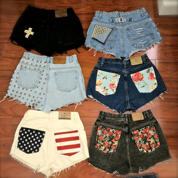 fashion, indie, shorts