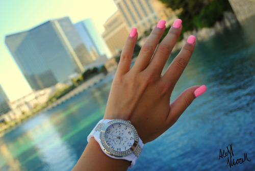 fashion, nails, watch