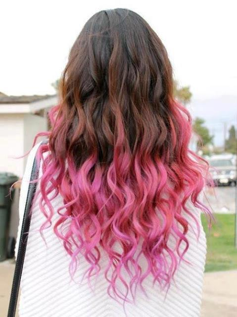 Amazoncom blue ombre hair extensions