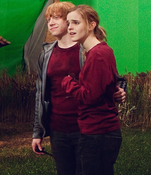 harry potter and ron and hermione