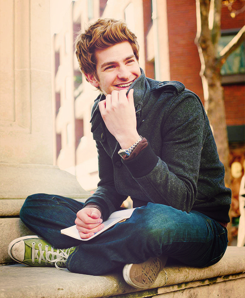 adorable, amazing, andrew garfield, boy, cute, hipster, hot, love, nerd, parker, peter, quote, sexy, spiderman, text, the