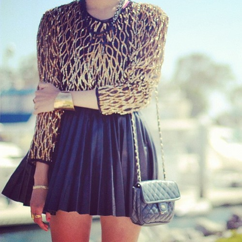 hot, black, chanel, cute