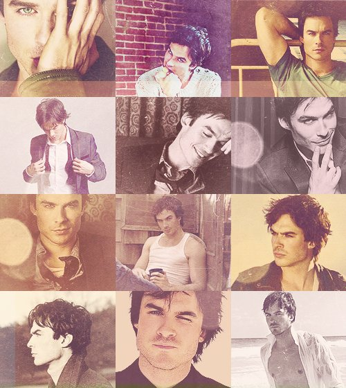 hot, damon, ian, ian somerhalder