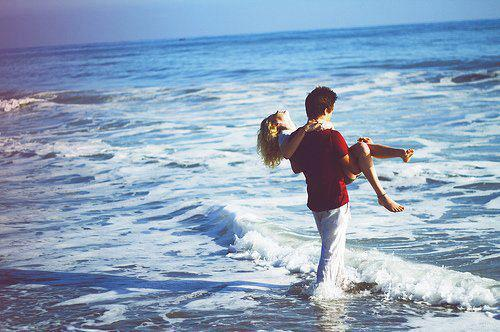 Photo sexy boy with girl in sea pics 738