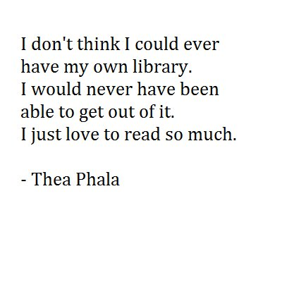 library, love, quote, read
