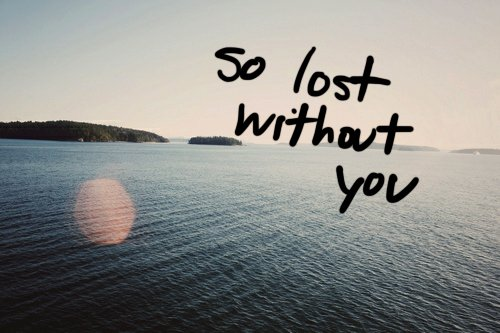 lost, quote, sea, text