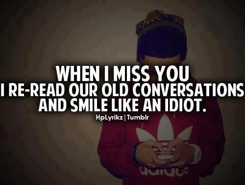 I Miss You Relationship Quotes