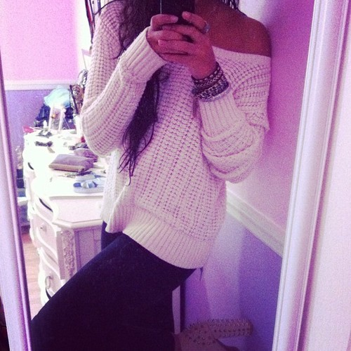 ;), cute, day, fashion, iphone, mirror, of, ootd, outfit, outfitoftheday, ponytail, the, warm, winter