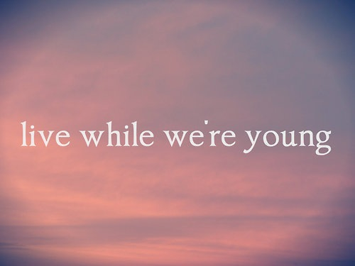 1d, harry styles, liam payne, live while we are young