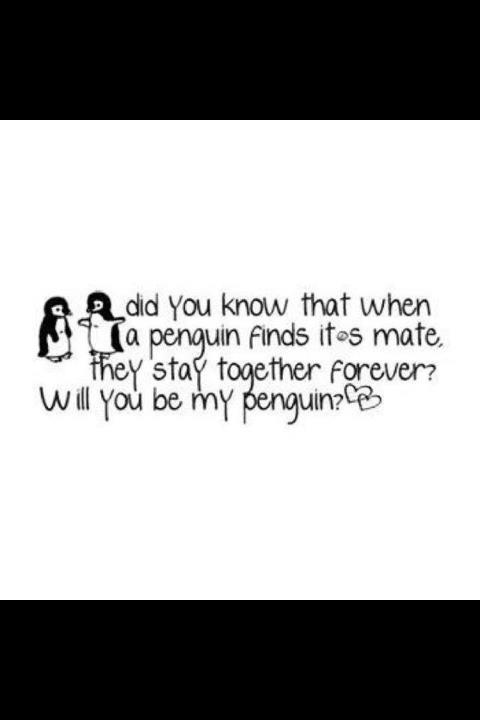 Love 4ever Quotes : 4ever, love, penguin, quote - image #632367 on Favim.com
