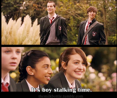 aaron johnson, and perfect snogging, angus, best friends, thongs
