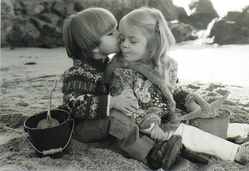 adorable, amazing, awesome, beach, best friend, best friends, black, black and white, boy, boyfriend, boys, child, childhood, children, chin, cute, friend, friends, girl, girlfriend, girls, kiss, kissing, sand, sandbox, sandcastle, sea, seastar, sweet