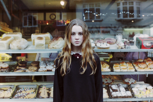 alone, beautiful, blonde, candy, girl, hair, long hair, model, pretty, sad, sweet