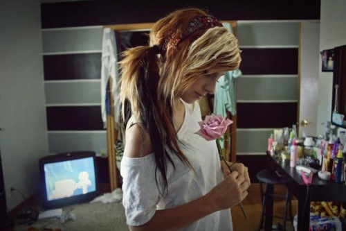 alternative, bitch, dye, girl, gorgeous, hair, love, make up, model, photography, scene, sexy