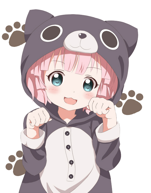 animal, anime, cat, kawaii