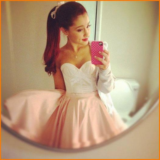 Ariana Grande Tumblr Selfie Wedding Hairstyles For Short