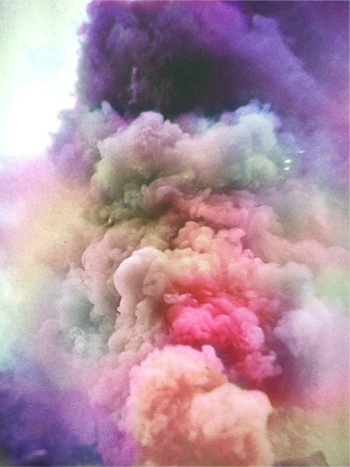 art, beautiful, clouds and color