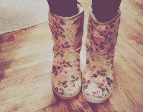 art, boots, fashion, floral, flowers, girl, love, nature, photography, pink, rustic, style, vintage