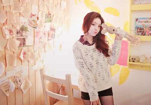 asian fashion, cute, girl, korean