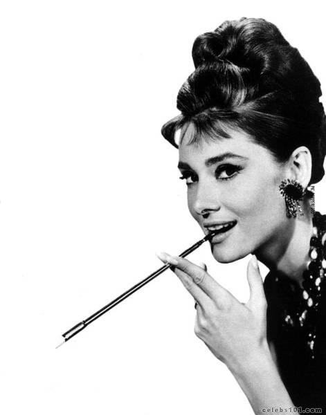 audrey hepburn, belgian, earrings and fame