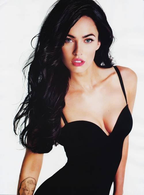 aww, black hair, dress, eyes