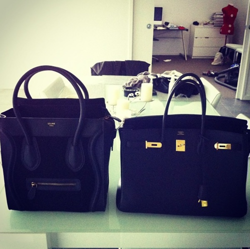bag, birkin bag, black, celine - image #625037 on Favim.com