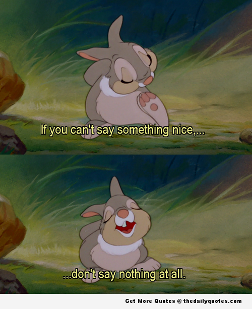 Cute Disney Quotes Tumblr: Bambi, Cute, Disney, Quotes