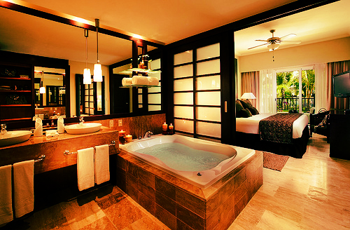 bathroom, home, house and interior design