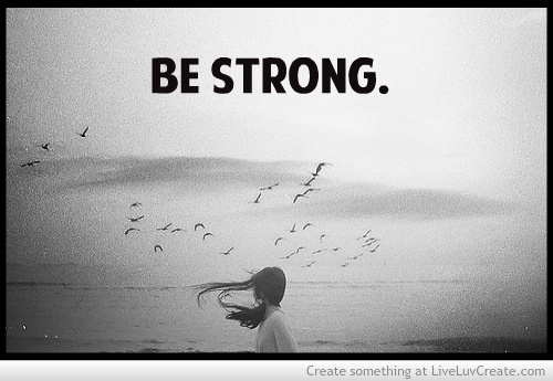 how to be strong in love quotes