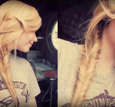 beautiful, braid, cute, girl, hair