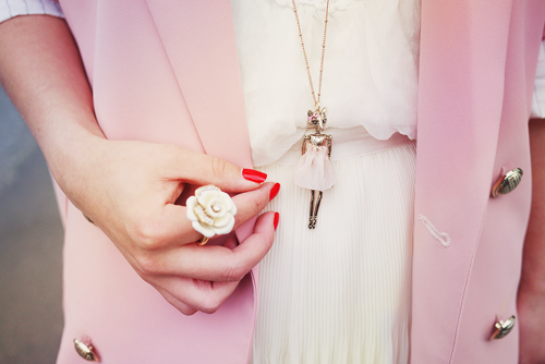 beautiful, colours, cute, flowers, girl, hands, longhair, love, lovely, outfit, paradise, pink, rose, sweet, white