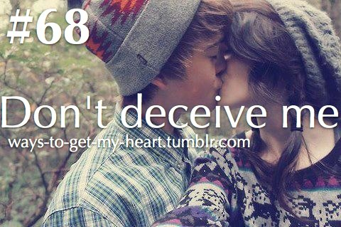beautiful, couple, cute, deceive, don't deceive me, happy, kiss, love, text, tumblr, waystogetmyheart