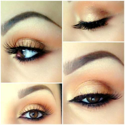 look  eye,  makeup natural make #631577 up,  beautiful, beautiful Favim.com to image on makeup