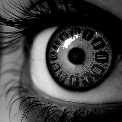 black and white  clock  eye  eyesCool Black And White Drawings Of Eyes