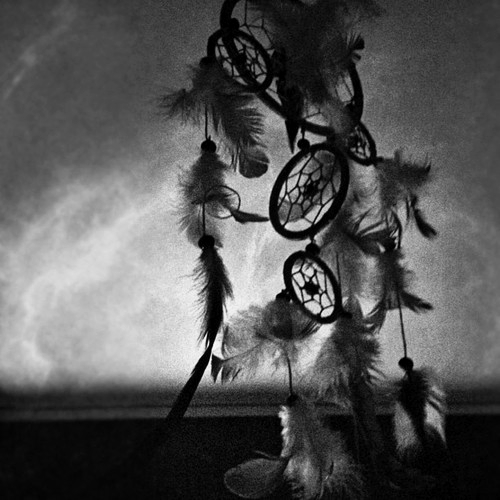 Black And White Dream Catcher Photography Soft Grunge