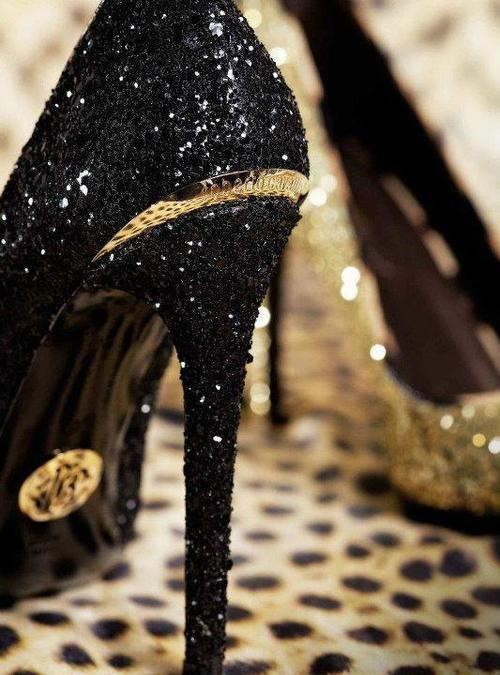 black, fashion, gold and love