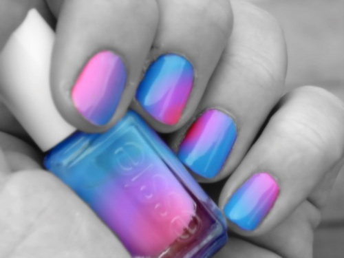 Blend Blue Essie Nail Polish Image 626932 On Favim Com