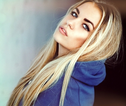 Blond Girl Hair Image 621057 On Favim Com