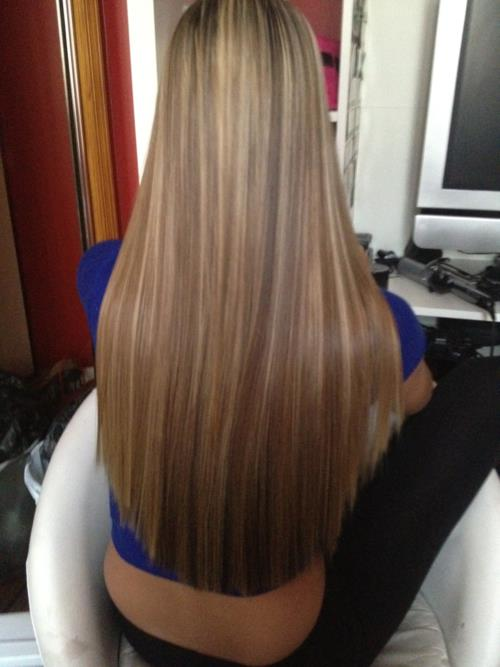 blonde, chic, fashion, girl, hair, healthy, highlights, long hair, style, woman