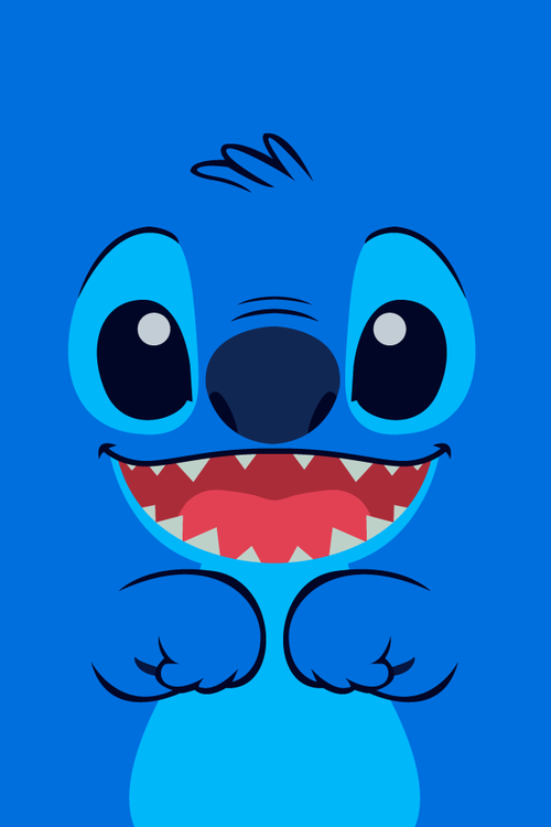 Cute Stitch Disney Wallpaper Blue Cute Disney Stitch